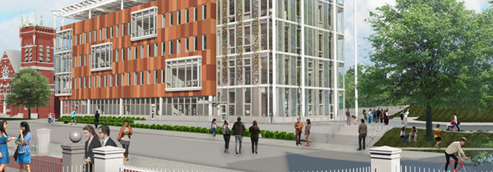 Vision for alumni and student engagement center - Clark University