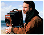 Stephen DiRado with camera