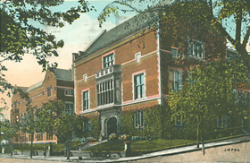 The Geography Building at Clark University