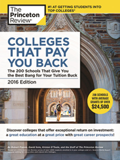 Princeton Review Colleges That Pay You Back