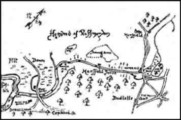Dawson's map of Maresfield forge