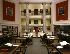 American Antiquarian Society Inside View