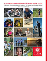 Annual Report: Marsh Institute 2011