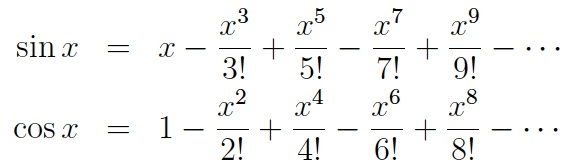 Trigonometric Function  Letters